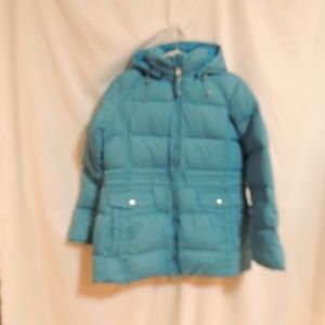 Lands End Womens Hooded Goose Down Puffer …